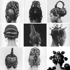 the diversity of black hair..